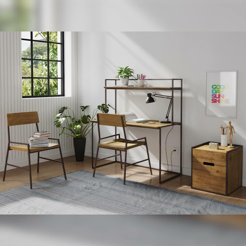 Conjunto Home Office Industrial