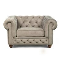 Poltrona Chesterfield Mozart - frontal
